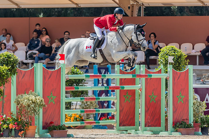 Top Five Finish for Canadian Show Jumping Team in Moroccan Nations Cup